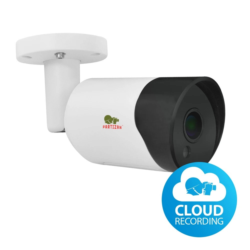 2МП вулична IP відеокамера Partizan IPO-2SP SE v4.2 Cloud