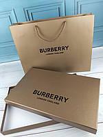 Подарочная коробка пакет Burberry Барбери