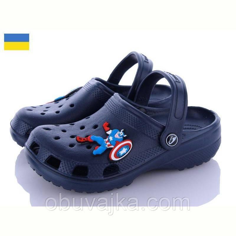 Літнє взуття оптом Крокси піна від виробника Luckline(рр 30-35)