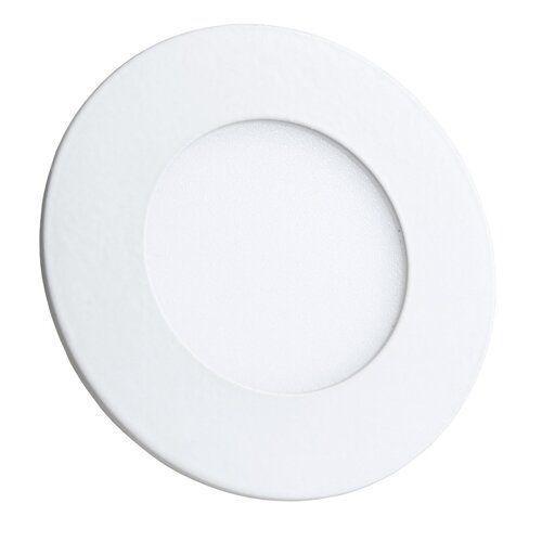 Світильник світлодіодний Biom PL-R3 W 3Вт круглий білий (LY-3)