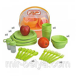 Набор для пикника 36 предметов на 4 персоны
