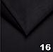 Велюр TRINITY стьобаний чорний «Ромб» (прошитий синьою ниткою) поролон, синтепоном і флізеліном шир 1,35 м, фото 2