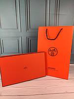 Подарочная коробка пакет Hermes Гермес