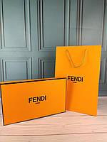 Подарочная коробка пакет Fendi Фенди