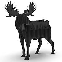 Мангал садовий розбірний Лось 3D, мангали фігури тварин