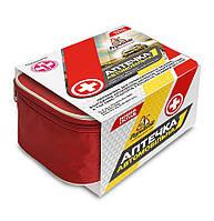 Аптечка медична автомобільна-1 тм Poputchik (02-006-М) м'який футляр , фото 1