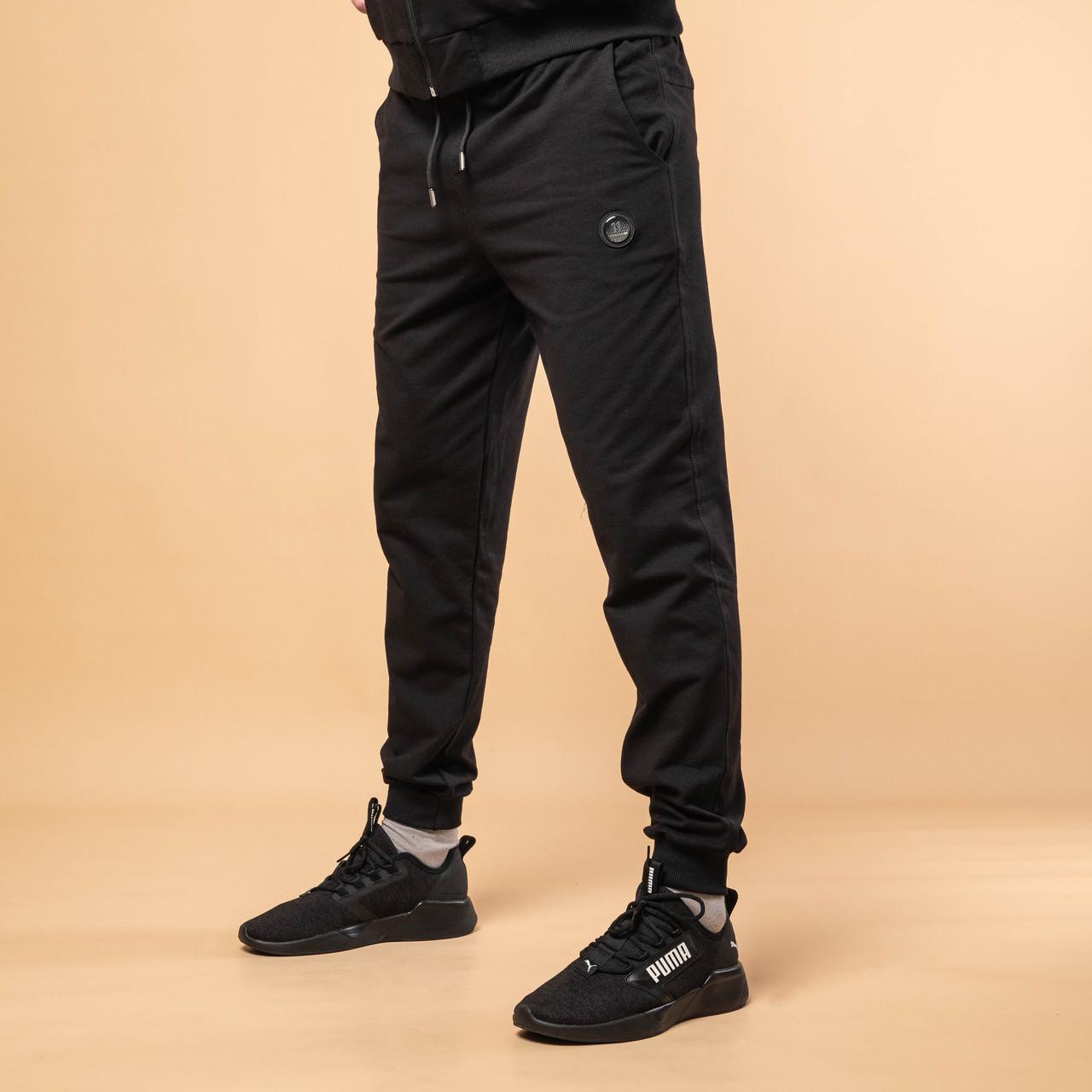 Спортивные штаны мужские 46-54  серый