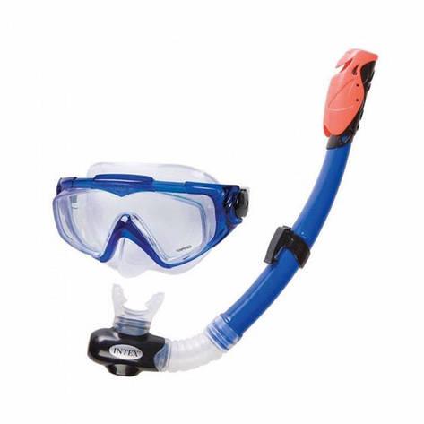 Набор для плавания Intex 55962 Silicone Aqua Pro Swim Set, фото 2