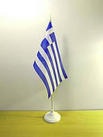 """Прапорець """"Греція"""" на підставці   Прапорці Європи  """