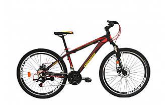 """Велосипед CROSSRIDE BLAST MTB AL 26"""" 15"""" Черно-красный"""
