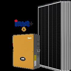 Солнечная электростанция INVT – SunPower 30 кВт (сетевая)