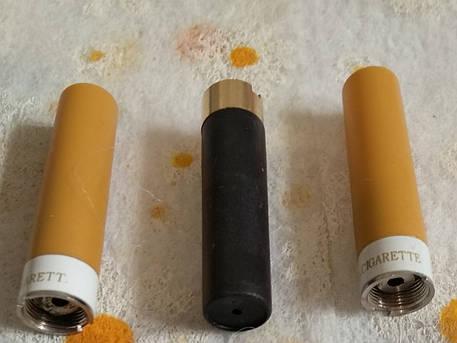 Атомайзер для электронных сигарет  (белый.чёрный), фото 2