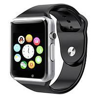Умные часы Smart Watch A1 часы телефон, камера, шагомер + подарок наушники беспроводные i12