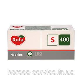 Салфетки барные Ruta Professional S 24х24 белые 400 шт.