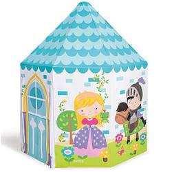 Детский домик надувной Intex 44635, принцессы, 104х104х130 см
