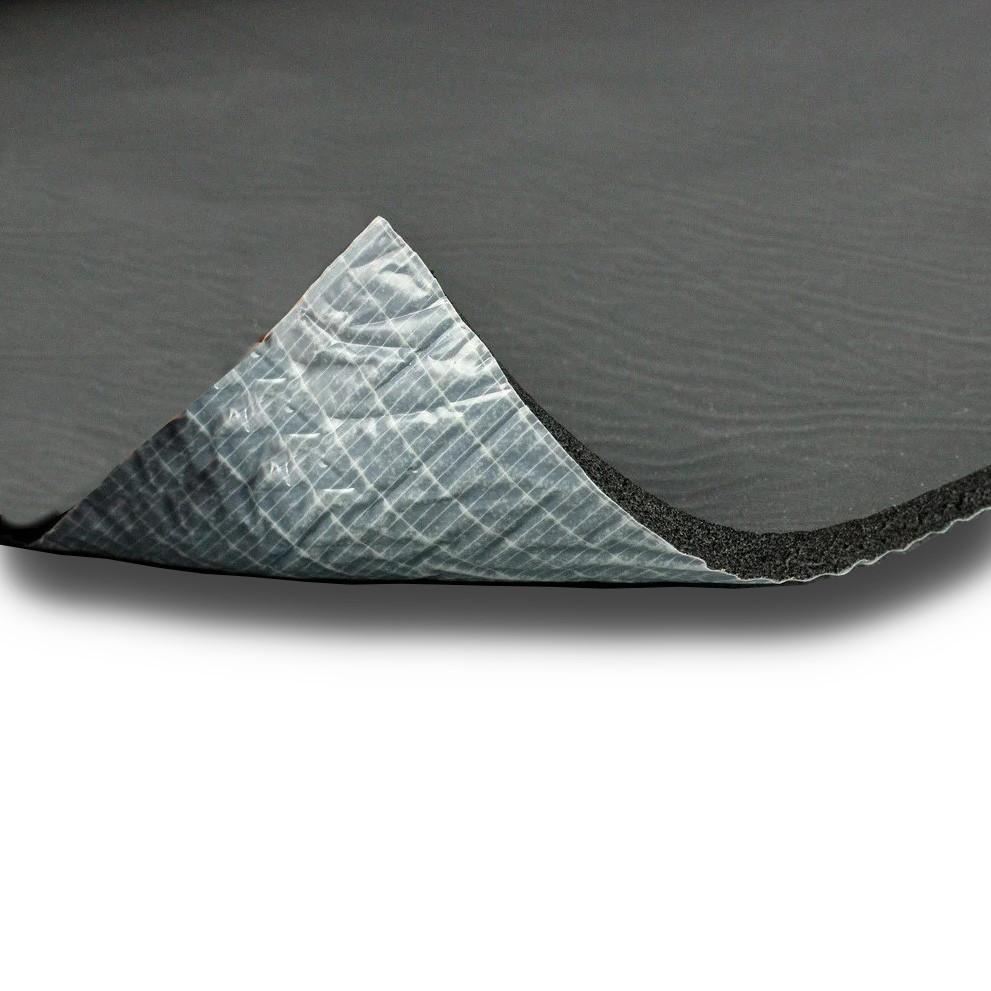 Шумоизоляция автомобиля, акустический вспененный каучук 500×500×13мм