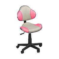 Дитяче крісло STR FW1 grey-pink