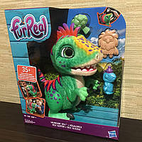 Интерактивная игрушка Hasbro FurReal Friends Малыш Дино Рекс Munchin Rex динозавр E0387