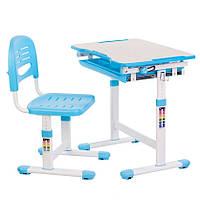 Комплект парта + стульчик - трансформеры STR B201N-BLUE, фото 1