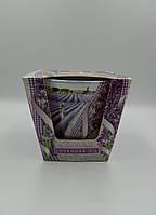 Свічка ароматична в склі 115г Lavender Kiss Lavender Oil