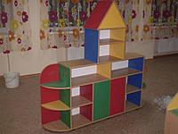 """Стенка для детского сада """"Теремок"""""""