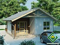 Каркасный дачный дом Дачный дом 1