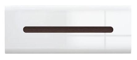 Шкаф навесной SFW1K/4/11 Azteca BRW белый/белый глянец