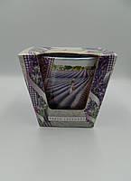 Свічка ароматична в склі 115г Lavender Kiss Fresh Lavender