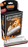 Губна гармошка Hohner M542016X C Golden Melody Box