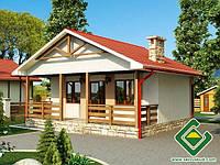 Строительство канадских домов Дача 1