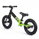 Велобег Corso Skip Jack 95112 12 черно-зеленый, фото 3
