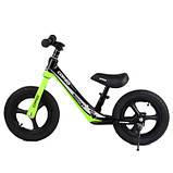 Велобіг від Corso 14452 12 чорно-зелений, фото 3
