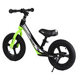 Велобіг від Corso 14452 12 чорно-зелений, фото 4