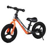 Велобіг від Corso 25825 12 чорно-помаранчевий, фото 2