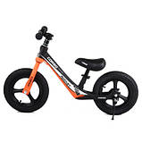 Велобіг від Corso 25825 12 чорно-помаранчевий, фото 3