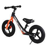 Велобіг від Corso 25825 12 чорно-помаранчевий, фото 4
