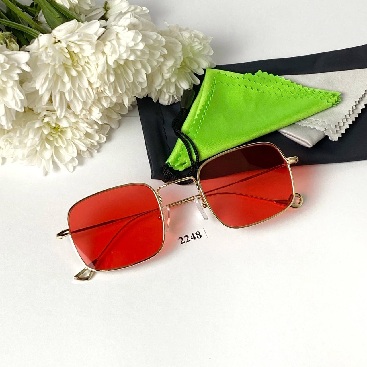 Сонцезахисні квадратні окуляри (унісекс)