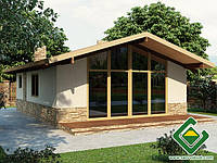 Строительство каркасных домов Дачный дом 3