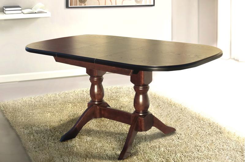 Раздвижной стол Орфей 160*90см (орех) от Микс Мебель