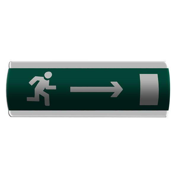 """Оповещатель световой """"Напрямок виходу направо"""" Сержант У-07-12/24"""