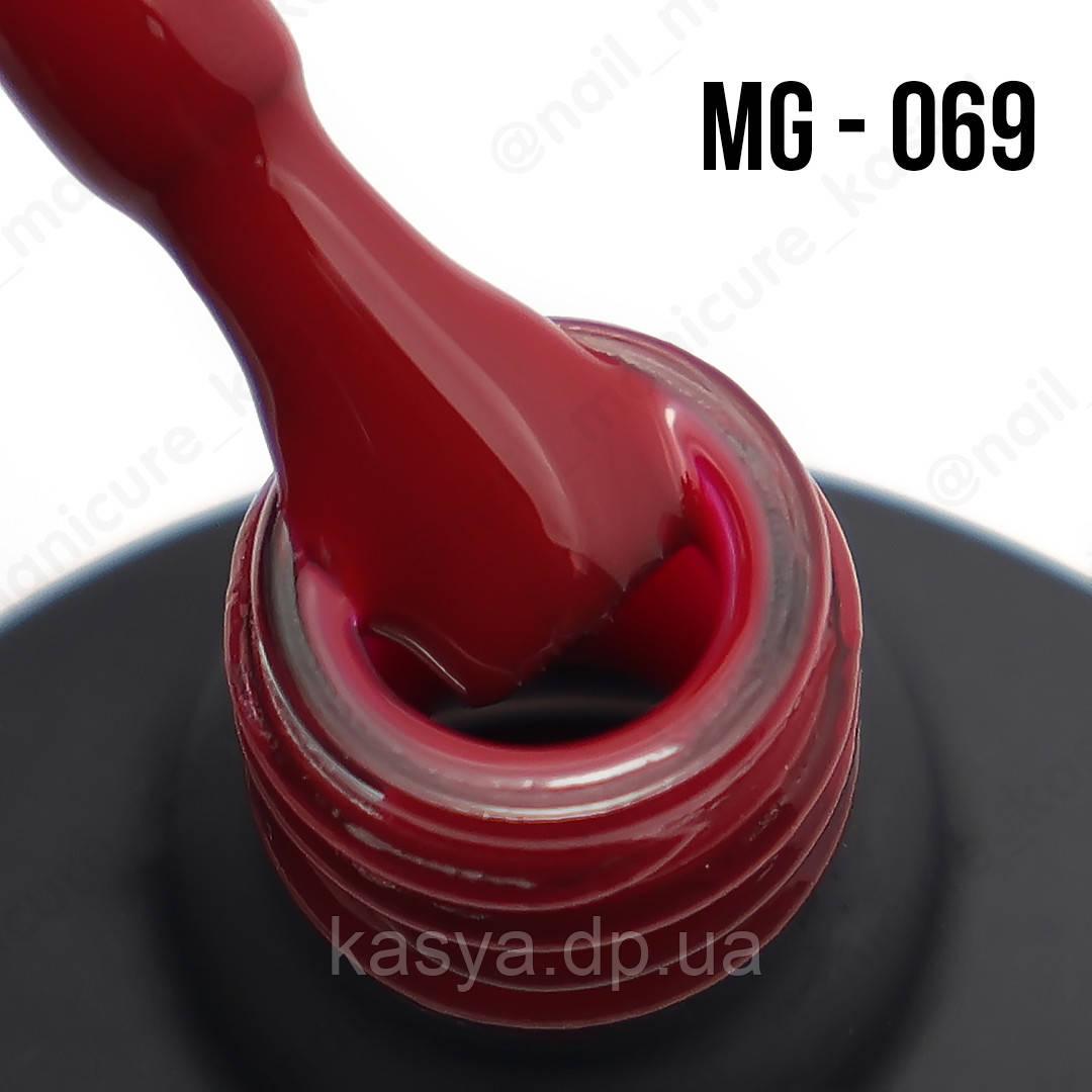 Гель-лак MG №069 (Burgundy), 8 мл