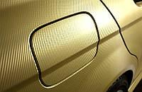 Автомобильная пленка 3d TR-1 Retner 1.27 золотой