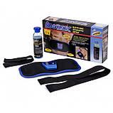 Комплект: массажер для тела Relax and Spin Tone + массажер миостимулятор пояс для похудения AbGymnic, фото 6