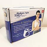Комплект: массажер для тела Relax and Spin Tone + массажер миостимулятор пояс для похудения AbGymnic, фото 9
