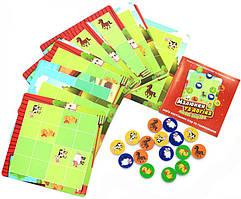 Настольная игра Fun Game UKB-B0031 Малюнки та логіка, пригоди на фермі