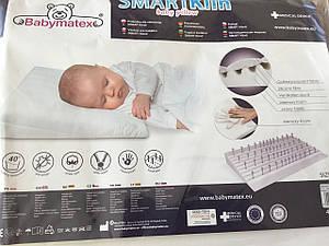 Подушка для младенцев Baby matex, ортопедическая 40*36 см с памятью