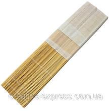 Пенал для пензлів,бамбук, нат.колір+тканина (36х36см), D.K.ART & CRAFT