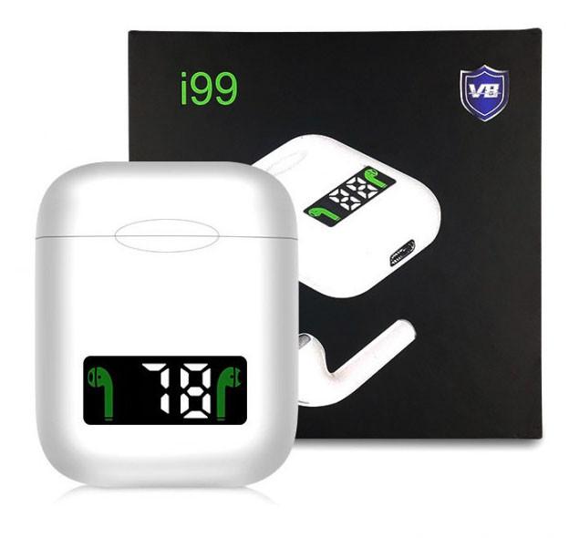 Бездротові блютуз-навушники i99 tws сенсорні| Бездротова Bluetooth-гарнітура