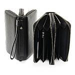 Кошелек-барсетка мужской кожаный большой BRETTON черный (05-103), фото 3