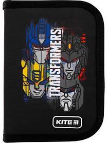 Пенал школьный без наполнения Kite Education Transformers Черный  (TF20-622-2)